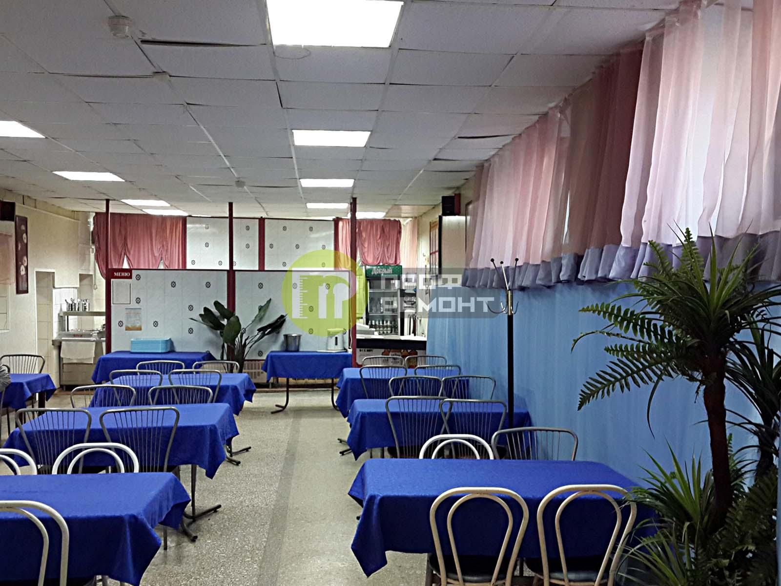 Ремонт кафе и ресторанов во Владимире