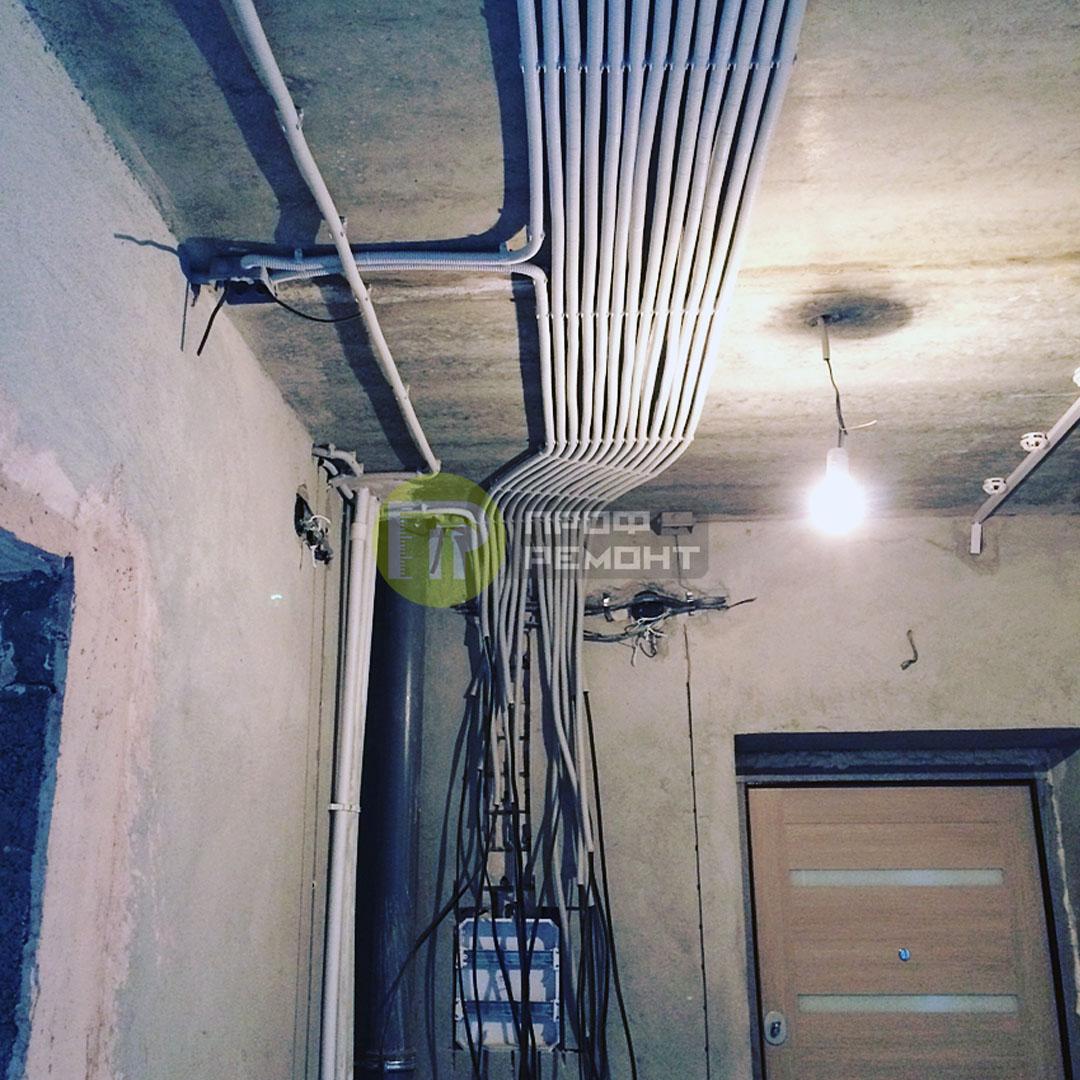 Проводка в квартире во Владимире